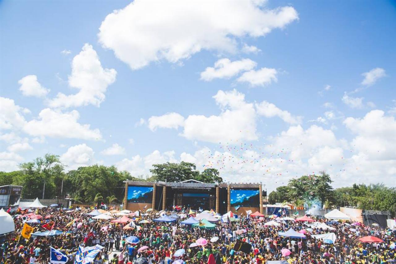 Konsert på en festival