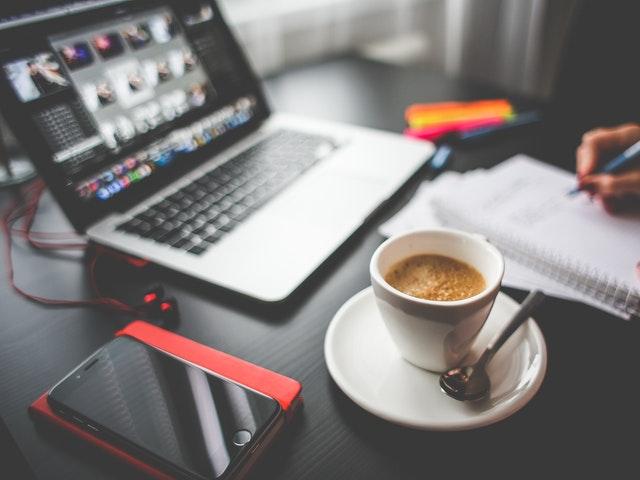 Musik, kaffe och plugg